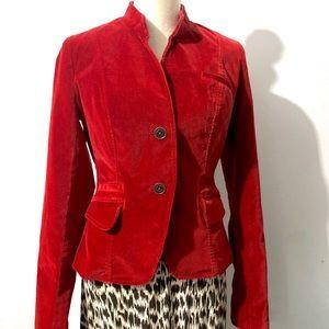 Lucky Brand | Velvet 2 Button Jacket Size M